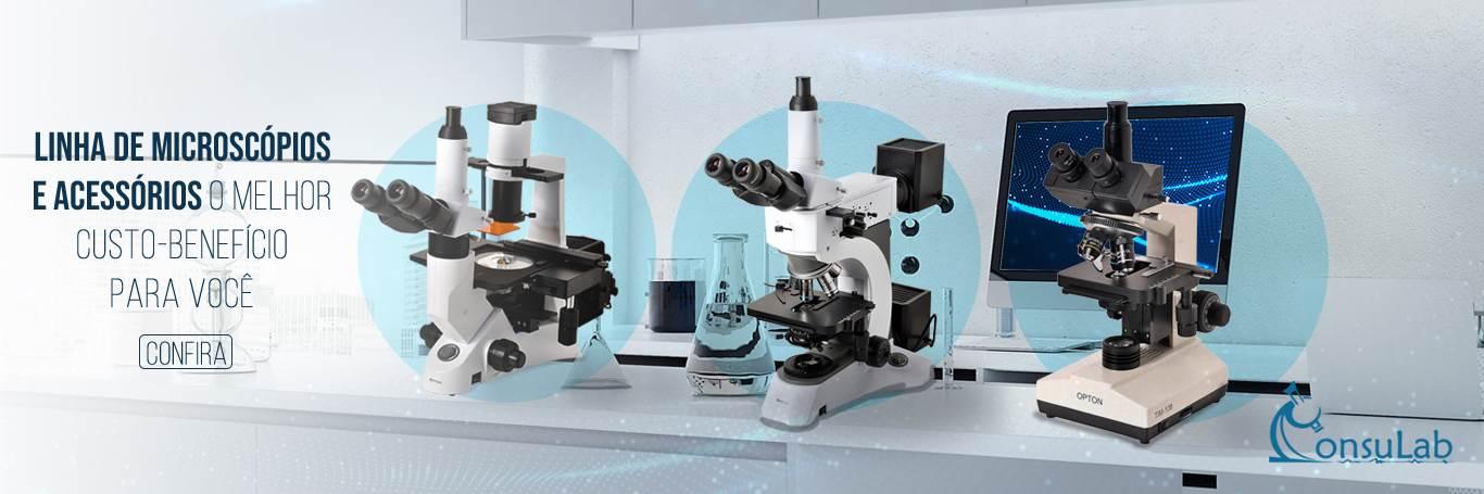 Microscópios e Acessórios