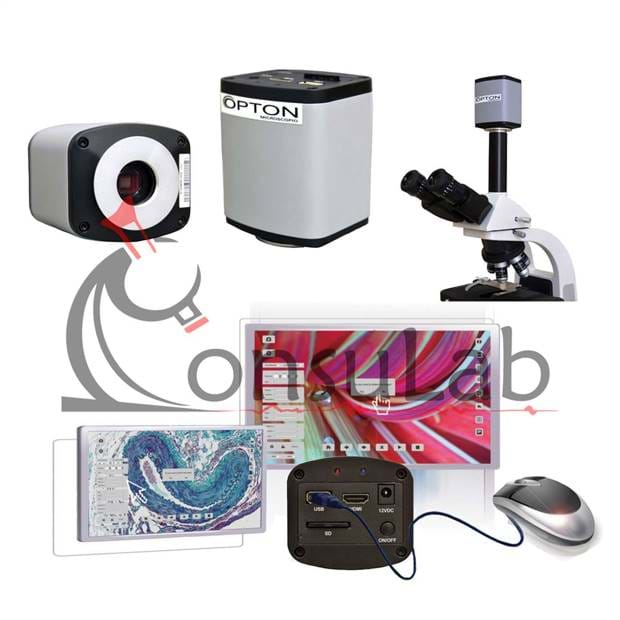 Câmera de Alta Resolução (HD) com Saída HDMI, USB e Cartão de Memória.