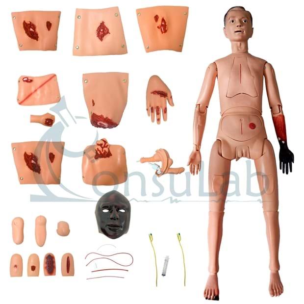 Manequim com Órgãos Internos Simulador para Cuidados de Enfermagem e Trauma