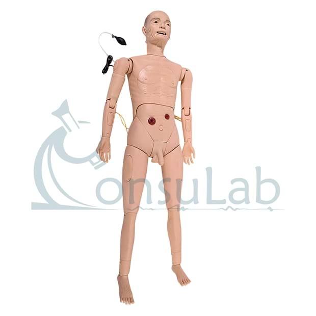 Manequim Geriátrico Masculino Simulador Avançado para Enfermagem