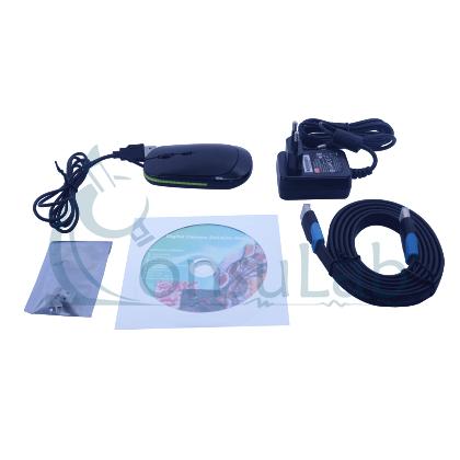 Câmera de Alta Resolução com Saída HDMI, USB e WiFi