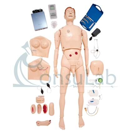 Manequim Bissexual, Simulador para Treinamento de Habilidades em Enfermagem e ACLS