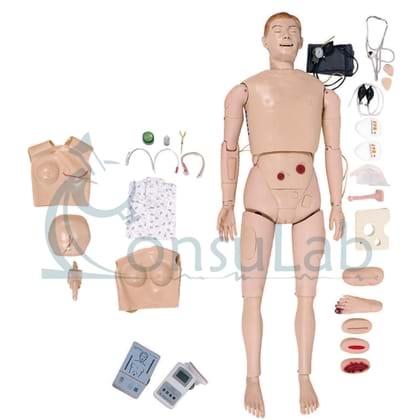 Manequim Bissexual para Treino de Enfermagem e RCP