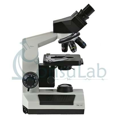Microscópio Biológico Binocular com Aumento 40x até 1600x, Objetivas Acromáticas e Iluminação LED 3W