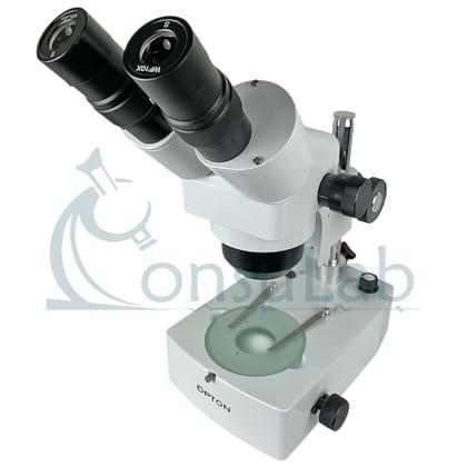 Microscópio Estereoscópio Binocular com Zoom para àrea de Reprodução
