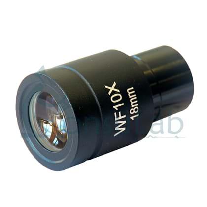 Ocular de 10x (18mm) para Biológico