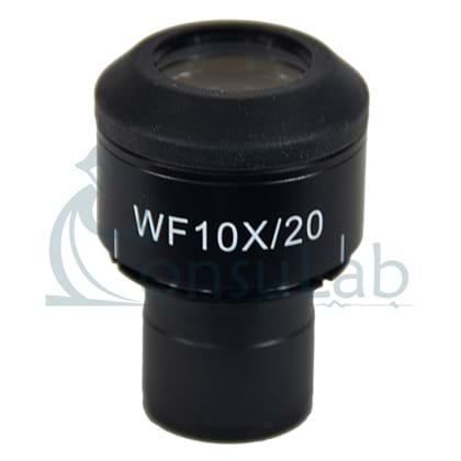 Ocular Focalizável com Retículo 10/100 mm