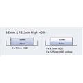 Adaptador p/ HD Ssd 2.5 Para Baia 3.5