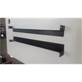Base (Suporte L) p/ Gabinete Rack ou Switch Mesa 50cm