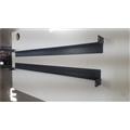 Base (Suporte L) p/ Gabinete Rack ou Switch Mesa 60cm