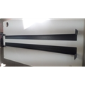 Base (Suporte L) p/ Gabinete Rack ou Switch Mesa 70cm