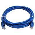 Cabo De Rede Cat5 Patch Cord Azul Utp Flexível 2,5m