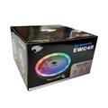 Cooler CPU FAN Para AMD/Intel 4 Pinos RGB