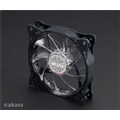Cooler Pc Akasa Vegas X7 Rgb 4 Pinos 12v, 120mm, 18x Led
