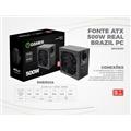 FONTE REAL BRAZIL PC 500 W