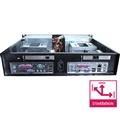 Gabinete 2U Mini ITX DUO