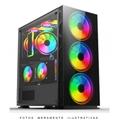 Gabinete Gamer ou Server c/ Lateral e Frontal c/ vidro temperado
