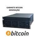 "Gabinete p/ Rack 19"" 4U Micro ATX Bitcoin Mineração (03unid. Chassis)"