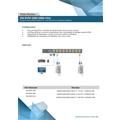 """GAVETA TFT 17"""" USB TRILHO SIMPLES 1 PORTA"""