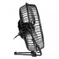 Mini Ventilador Usb Preto Akasa 15 Cm - Silencioso