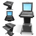 TFT Data Center c/ monitor e teclado