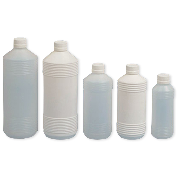 Frascos Plásticos Estriados