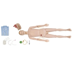 Manequim Bissexual com Órgãos Internos para Treino de Enfermagem