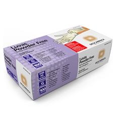 Luva de Látex para Procedimento Powder Free ? Uso Médico Cx. C/ 100 Und.