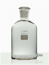 FRASCO MARIOTTE COM OLIVA DE VIDRO 500 ML