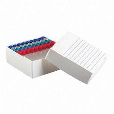 Caixa De Polipropileno Para 81 Microtubos De 1,5 A 2,0 Ml 10 Und