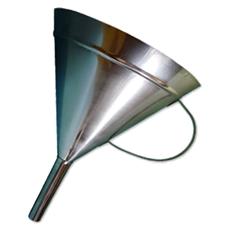 Funil em Aço Inox com ou sem Alça