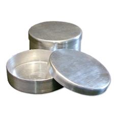 Placa de Petri em Aço Inox ou Alumínio