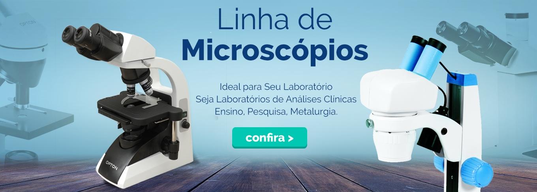 Linha de Microscópios