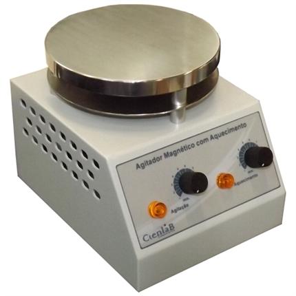 Agitador Magnético com Aquecimento Plataforma de Alumínio 15 Litros