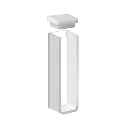 Cubeta Em Quartzo ES 2 Faces Polidas, Passo 10mm, Volume 3,5ML de Fundo Arredondado