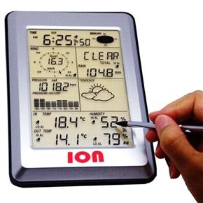 Estação Meteorológica Portátil Sem Fio - Touchscreen