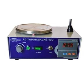 Agitador Magnético - Aquecimento até 350°C - 4 Litros