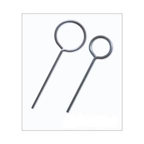Anel de Ferro com cabo 10cm Espessura de 4,76mm