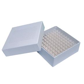 Caixa Fibra De Papelão 100 Furos Para Armazenar Tubos 1,5-2,0Ml