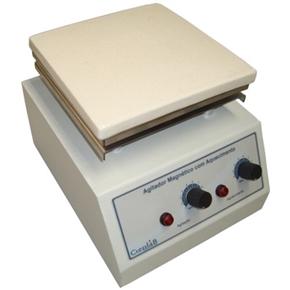 Agitador Magnético com Aquecimento Plataforma Pirocerâmica 15 Litros