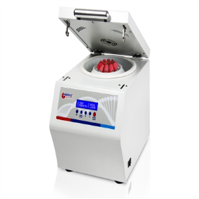Centrífuga Imunohemato com Cap. para 12 Tubos de 10x75mm ou 12x75mm com Rotação de 500 a 6000RPM