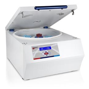 Centrífuga Sorológica com Rotação Programável de 500 a 4000RPM para 4 Opções de Tubos