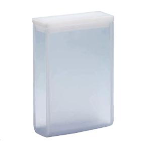 Cubeta Em Quartzo ES 2 Faces Polidas, Passo 30mm, Volume 10,5ML de Fundo Arredondado