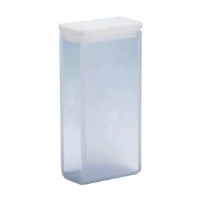 Cubeta Em Quartzo ES 2 Faces Polidas, Passo 20mm, Volume 7ML de Fundo Arredondado
