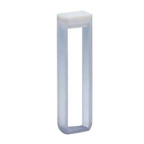 Cubeta Em Quartzo ES 2 Faces Polidas, Passo 5mm, Volume 1,7ML de Fundo Arredondado
