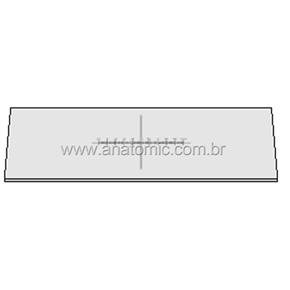 Lâmina padrão 10mm/100 divisões