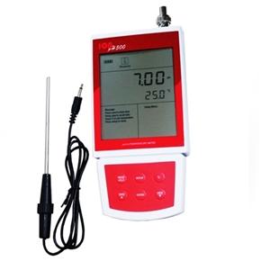Medidor de pH Portátil com ATC - Medições de -2,00 até 16,00 pH