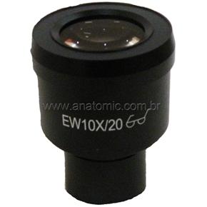 Ocular de 10x (20mm) para Biológico