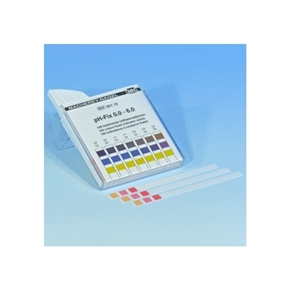 Papel Indicador de pH 0-6 100 Tiras