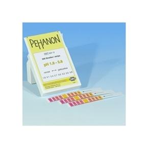 Papel indicador de pH PEHANON® 1,8-3,8 com 200 Tiras